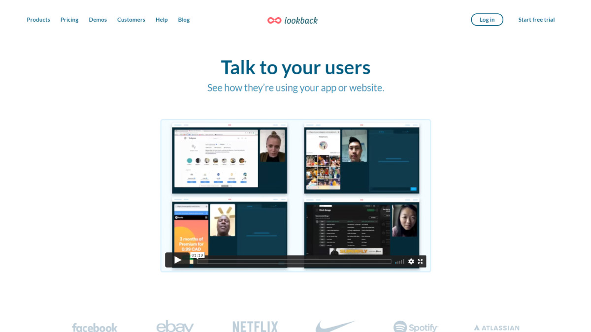 Lookback: session recording tool for product managers