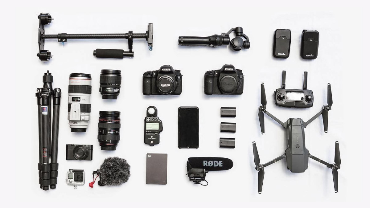 Accessories for professional video production