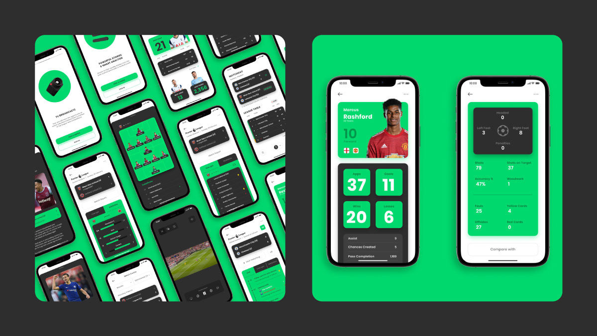 99Football - UX project done by WowMakers UX design studio