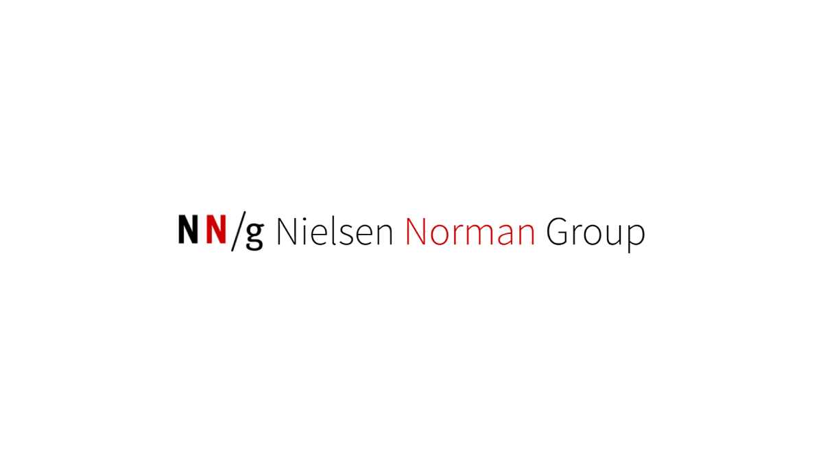 NN Group - One of the best UX research agency in the world